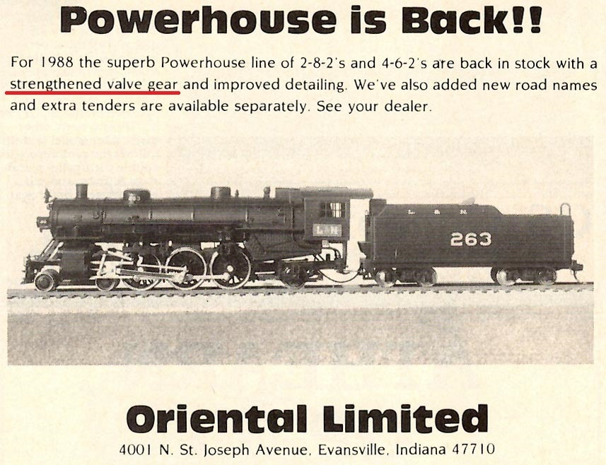 ad of Oriental Limited Powerhouse